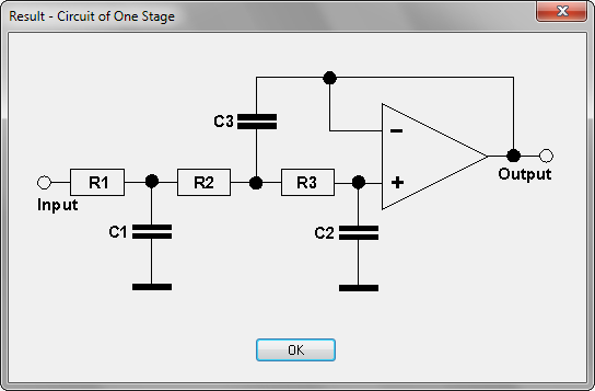High Quality Reconstruction Low Pass Filter For Digital Audio